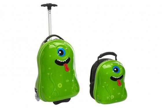 Kindertrolley  & Rucksack   - Alien