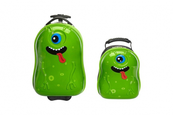 Kindertrolley  & Rucksack   - Alien 1