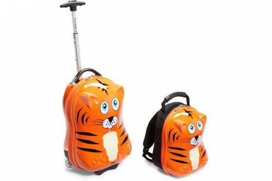 Valise pour enfant & sac à dos - Tigre