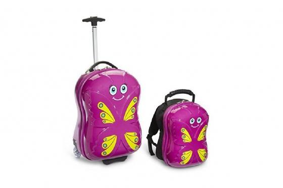 Kindertrolley  & Rucksack - Schmetterling