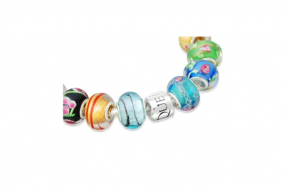 Bracelet perles - Argent 925 2