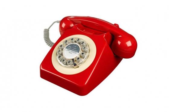 Klassisches Telefon - im Vintage Style