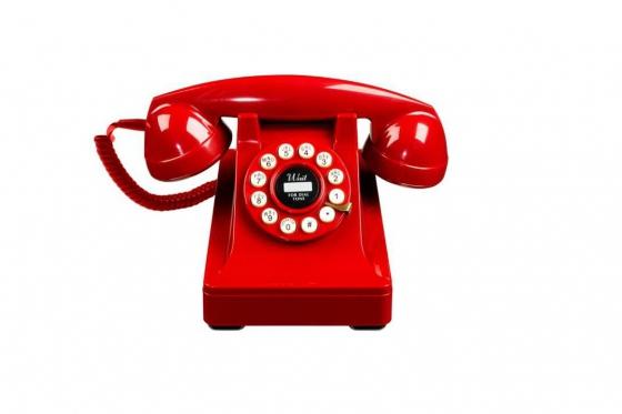 Téléphone classique - dans un style vintage