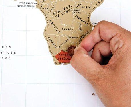 Mappemonde à gratter - pour les globe-trotteurs 2