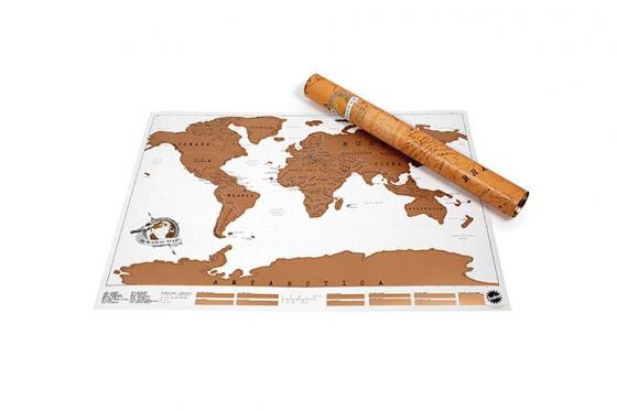 Mappemonde à gratter - pour les globe-trotteurs 5