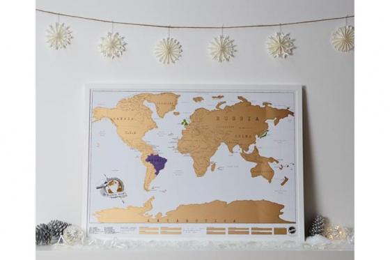 Mappemonde à gratter - pour les globe-trotteurs 7