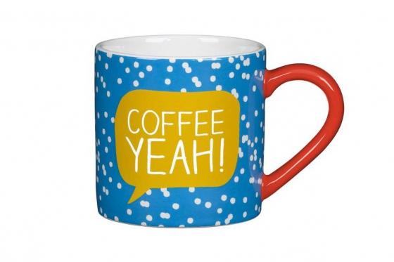 Tasse mit Spruch - Coffee Yeah