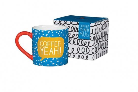 Tasse mit Spruch - Coffee Yeah 2