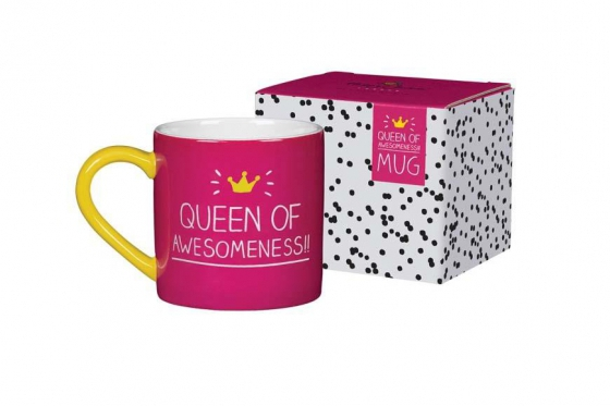 Tasse mit Spruch - Queen of Awesomeness! 2