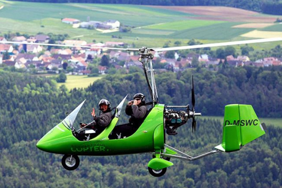 Gyrocopter Rundflug - 30 Minuten  [article_picture_small]