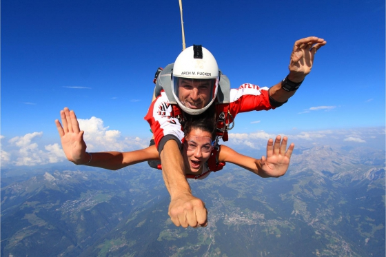 Saut en parachute - VD / FR / VS 8 [article_picture_small]