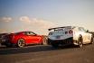 Nissan GT-R-5 tours sur circuit 1