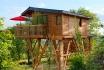 1 Übernachtung im luxuriösen Baumhaus-Inkl. privatem Spa, Tagesausflug mit einem Citroën 2CV und Frühstück 2