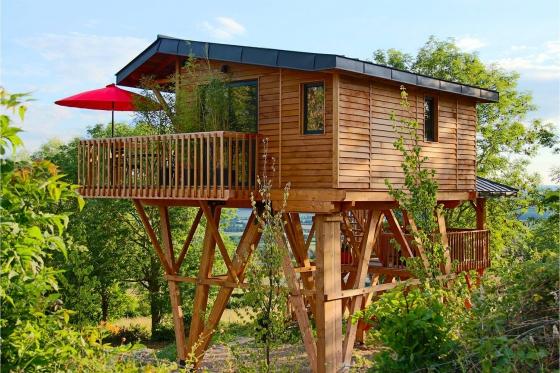 1 Übernachtung im luxuriösen Baumhaus - Inkl. privatem Spa, Tagesausflug mit einem Citroën 2CV und Frühstück 1 [article_picture_small]