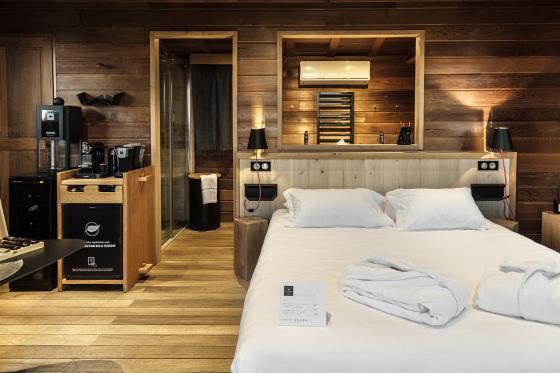 Nuit dans une cabane de luxe - Inclus: Spa privatif, 2 modelages du corps (45min) et petits-déjeuners 2 [article_picture_small]
