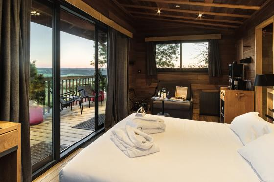Nuit dans une cabane de luxe - Inclus: Spa privatif, 2 modelages du corps (45min) et petits-déjeuners 3 [article_picture_small]
