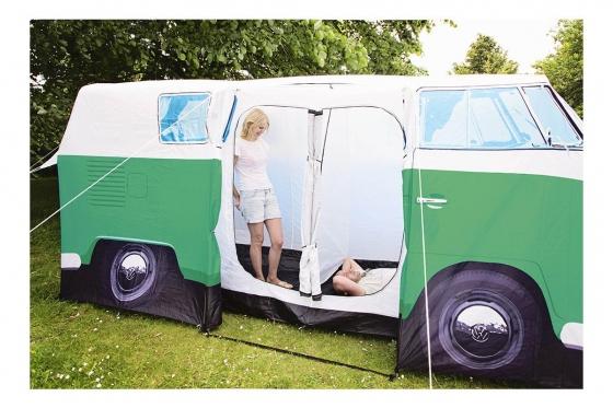 Tente VW Bus verte - en diverses couleurs 1