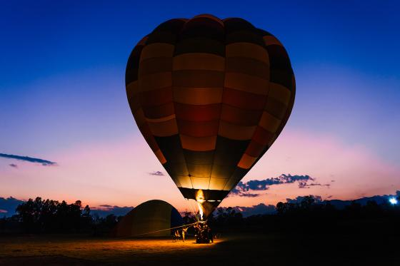 Sonnenaufgang im Ballon - Für Frühaufsteher  [article_picture_small]