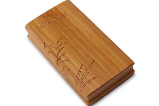 Powerbank Bambus - 12'000 mAh 2