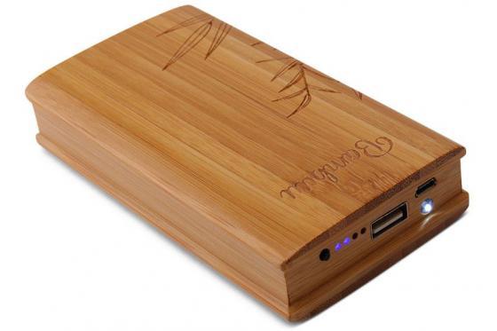 Powerbank Bambus - 12'000 mAh 3