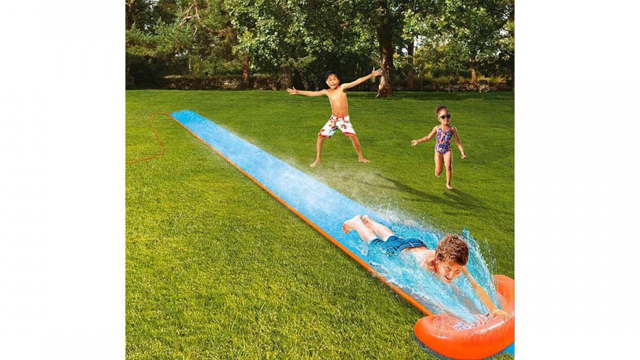 Coole Wasserrutsche Für Wasserspass Im Garten Geschenkparadiesch
