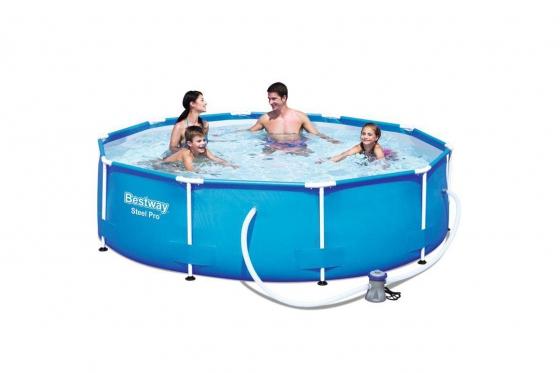 Swimming Pool von Bestway - Komplett-Set - Ø 305cm / H: 76cm