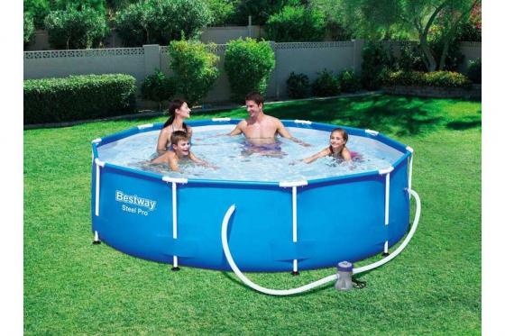 Swimming Pool von Bestway - Komplett-Set - Ø 305cm / H: 76cm 1