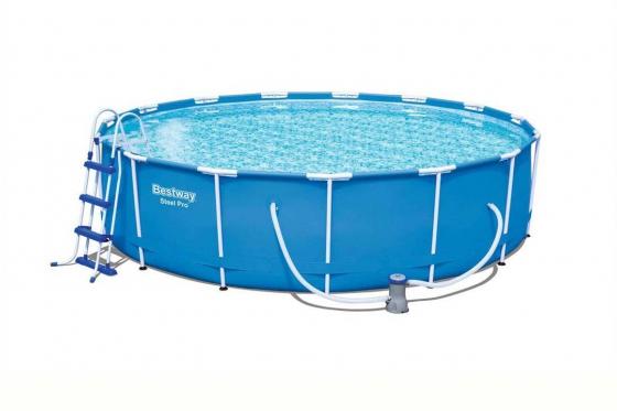 Swimming Pool von Bestway - Komplett-Set - Ø 457cm / H: 107cm