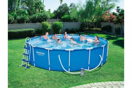Swimming Pool von Bestway - Komplett-Set - Ø 457cm / H: 107cm 2