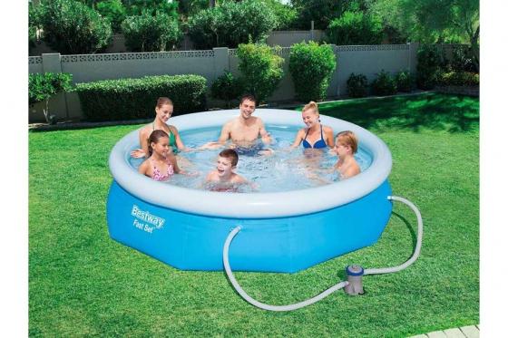 Swimming Pool von Bestway - Ø 274 cm / H: 76 cm 1