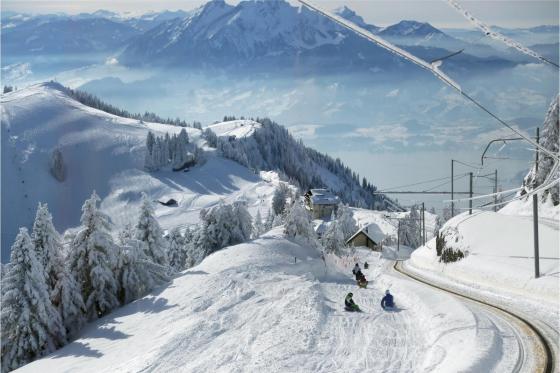 Winter-Dampffahrt auf die Rigi - Nostalgische Bergbahnfahrt ab Vitznau  (für Personen mit Halbtax-Abo) 3 [article_picture_small]
