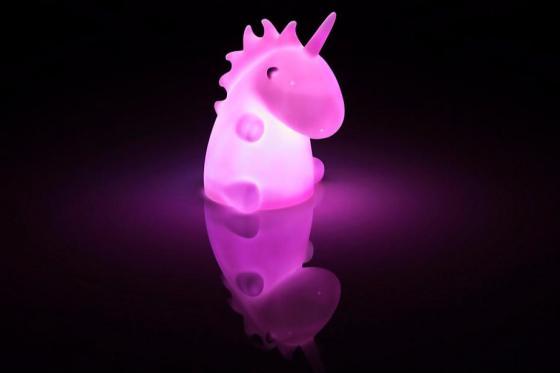 Einhorn LED Lampe - Nachtlicht