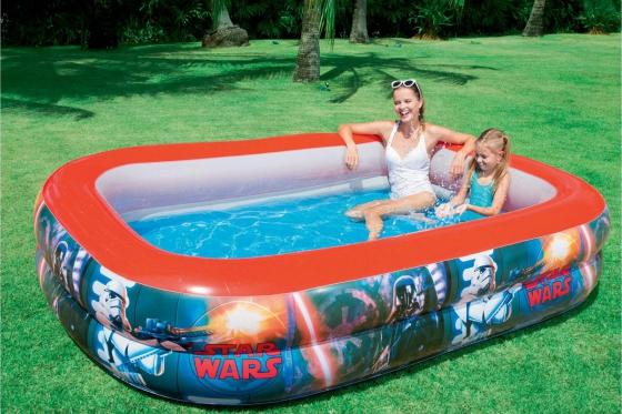 Family Pool Star Wars - 262x175x51cm 3