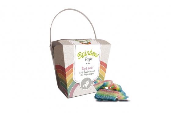 Rainbow to go - Fruchtgummibänder