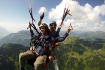 Gleitschirmflug - 1 Person, 800 Höhenmeter - Chablais VD