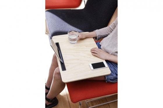Tablethalterung aus Holz - gross 1