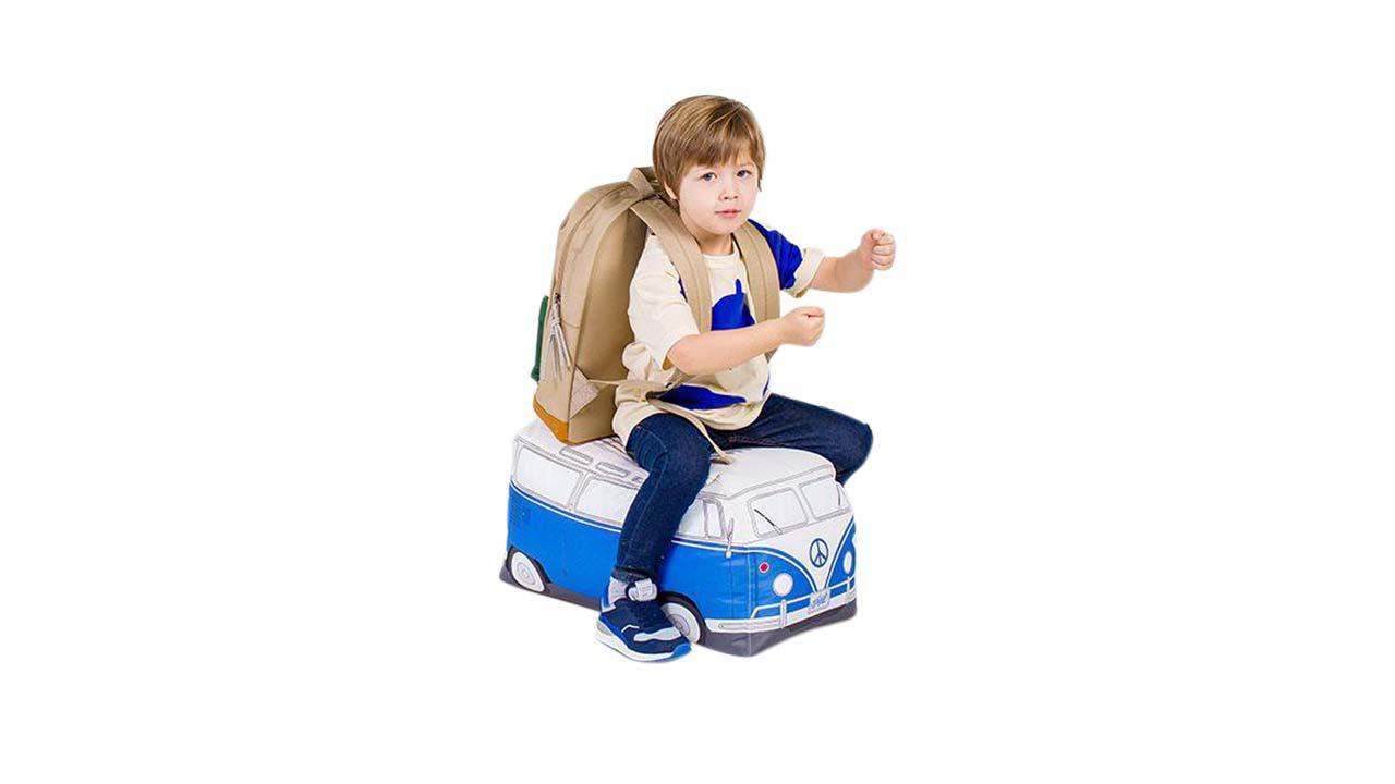 pouf en forme de van pour enfants cadeaux24. Black Bedroom Furniture Sets. Home Design Ideas