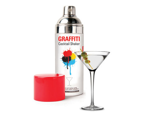 Cocktail Shaker - Graffiti