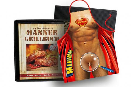 Grill-Set - Buch inkl. Fun-Schürze