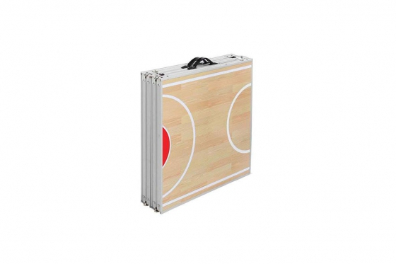 Beer-Pong Tisch - im Basketball Design - 240x60x76 cm 2