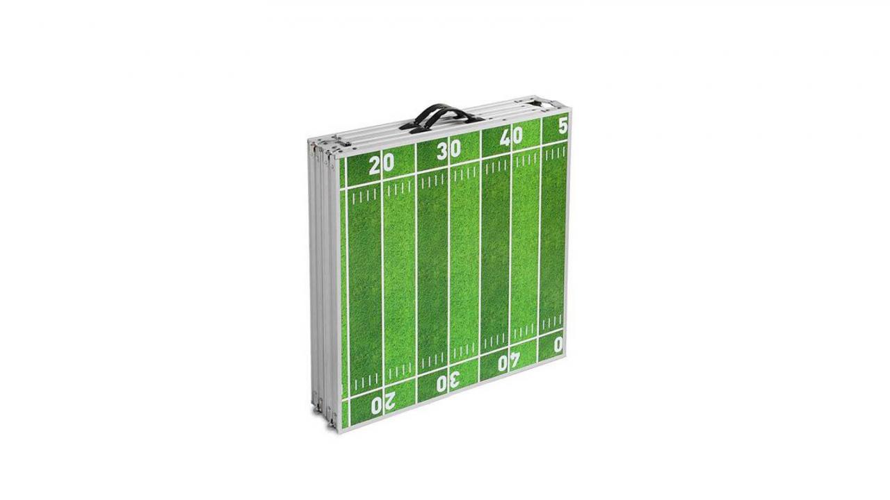 Beer Pong Tisch Im American Football Design