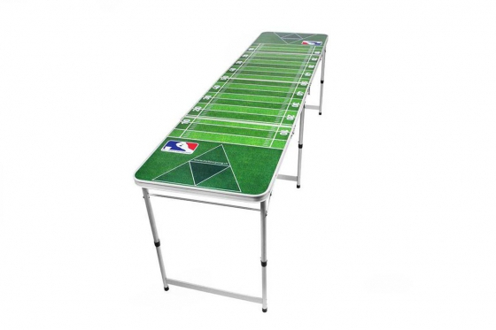 Beer-Pong Tisch - im American Football Design - 240x60x76 cm 1