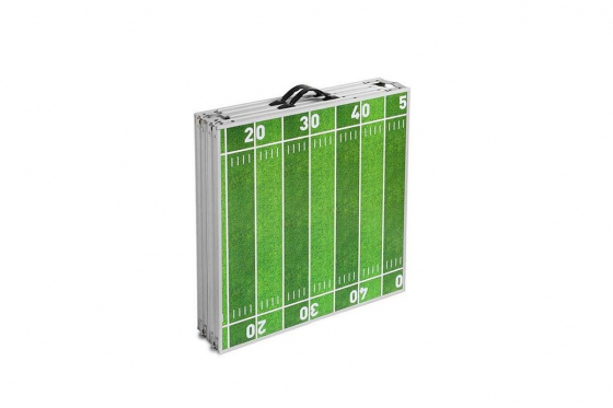 Beer-Pong Tisch - im American Football Design - 240x60x76 cm 2