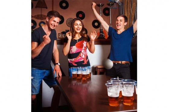 beer pong party set. Black Bedroom Furniture Sets. Home Design Ideas