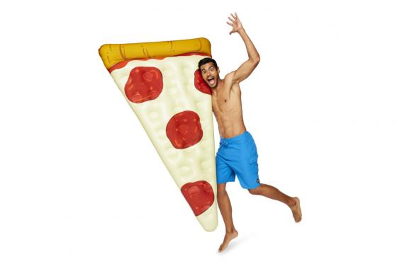 Luftmatratze Pizza - 1.8m lang