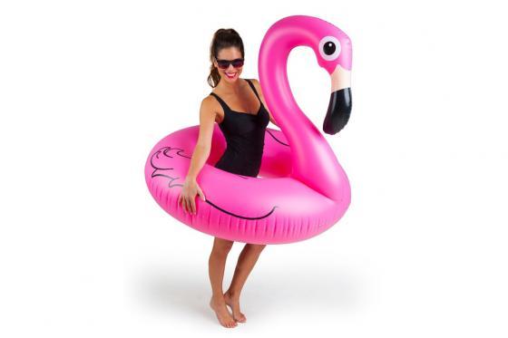 Schwimmreifen - Riesen-Flamingo, Ø 1.2m