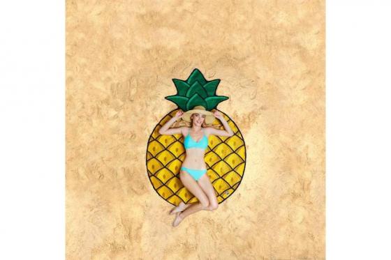 Serviette de bain Ananas - Ø 1.5m