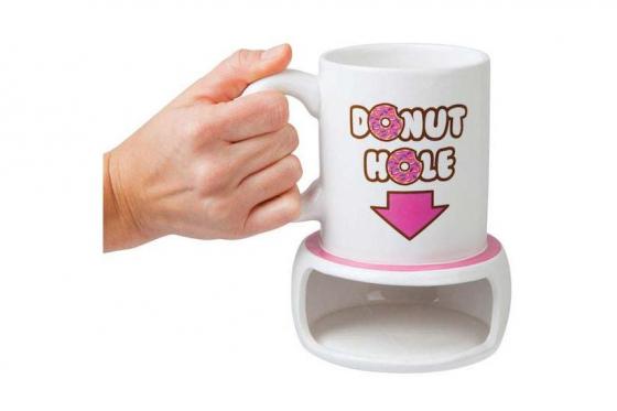 Tasse avec emplacement pour donut - 400ml 1