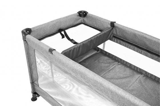 Lit de voyage pour bébé - pliable, avec accessoires et sac de transport 1