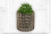 Rattan Blumentopf - 36x36x35 cm - zylindrisch  [article_picture_small]